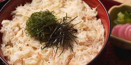 冬限定メニュー「蟹丼」