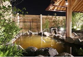 岩盤浴・溶岩浴「八蓮花」+天然温泉入館料