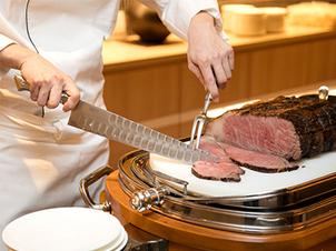 【人気No.1!】鮨、天婦羅、ローストビーフなど料亭の味が約60種!ライブ割烹ブッフェプラン