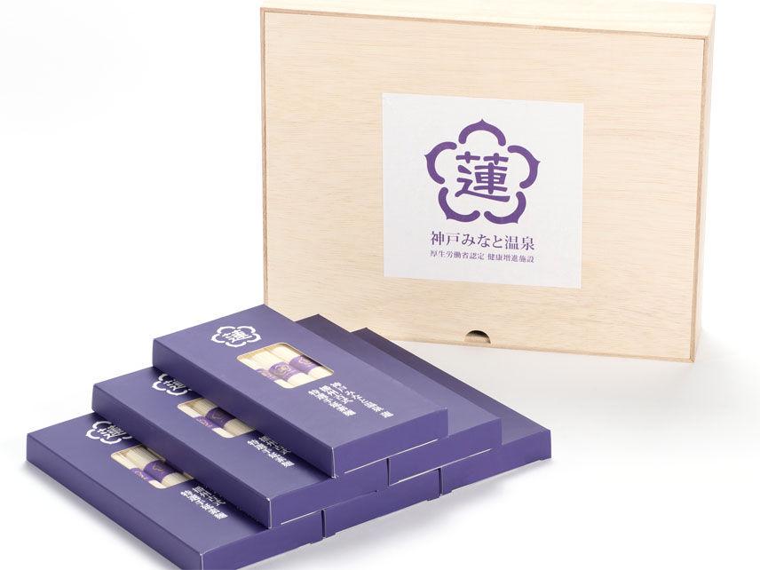 【特別を贈る】蓮オリジナル 播州古式特選 手延麺