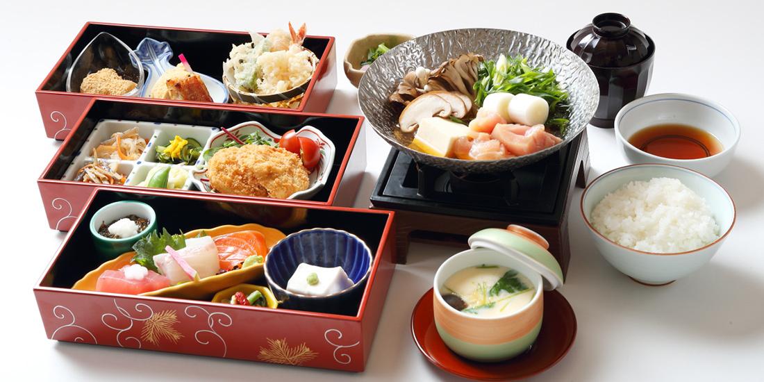 天然温泉と特別昼御膳のランチプラン【やすらぎプラン】料理イメー