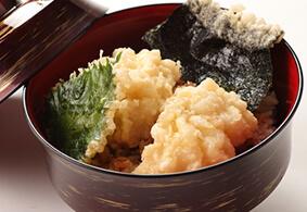 ご入館+季節限定メニュー「鱧天丼」+アイスクリーム付