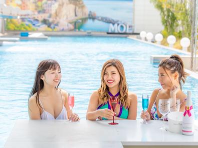 【ENJOY SUMMER】金・土・日の夜はDJパフォーマンスも!天然温泉リゾート 蓮で夏を愉しむ!プール利用付きプラン