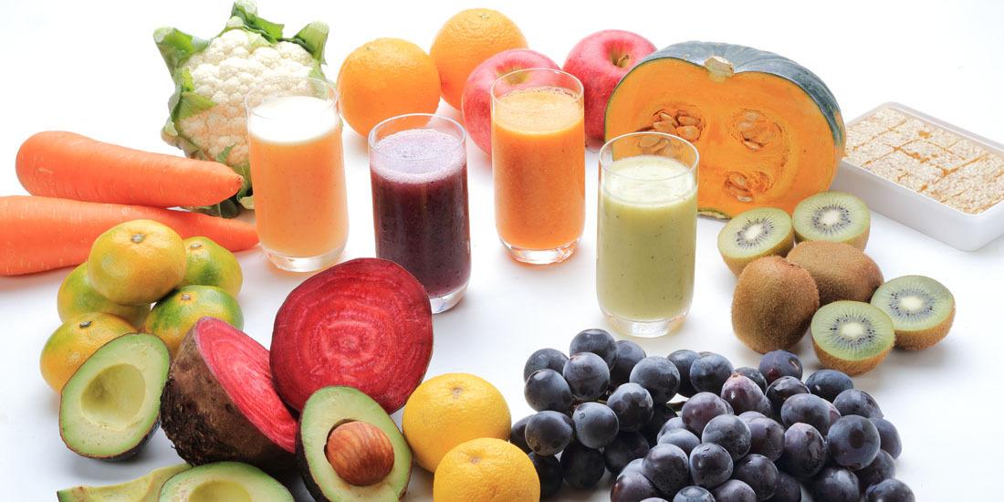 フレッシュフルーツと野菜のジュース(11~12月)