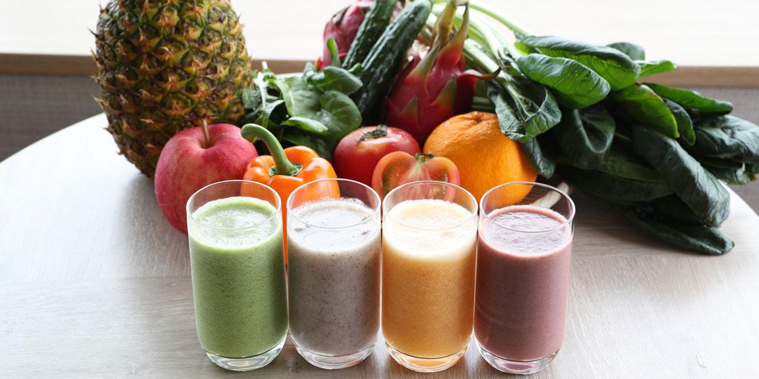 フレッシュフルーツと野菜のジュース(7~8月)