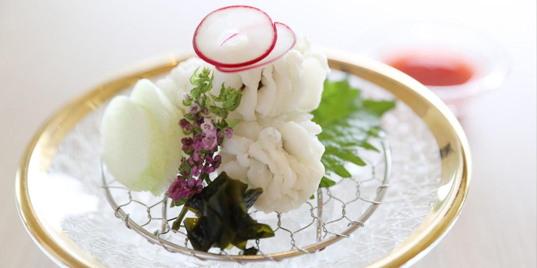 季節の逸品・鱧(ハモ)