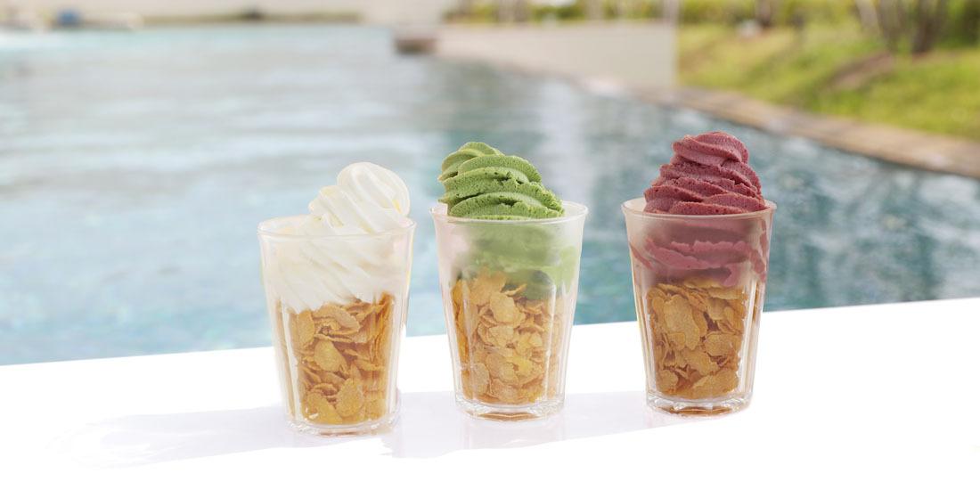 【ポイントカード会員様限定】オーシャンズスパでソフトクリームプレゼント