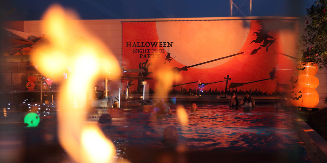 兵庫県内の人気者たちが集合!「教養」「娯楽」「日本の文化」に触れるハロウィンプールパーティー