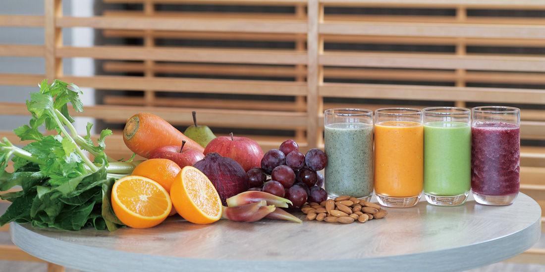 フレッシュフルーツと野菜のジュース(9~11月)