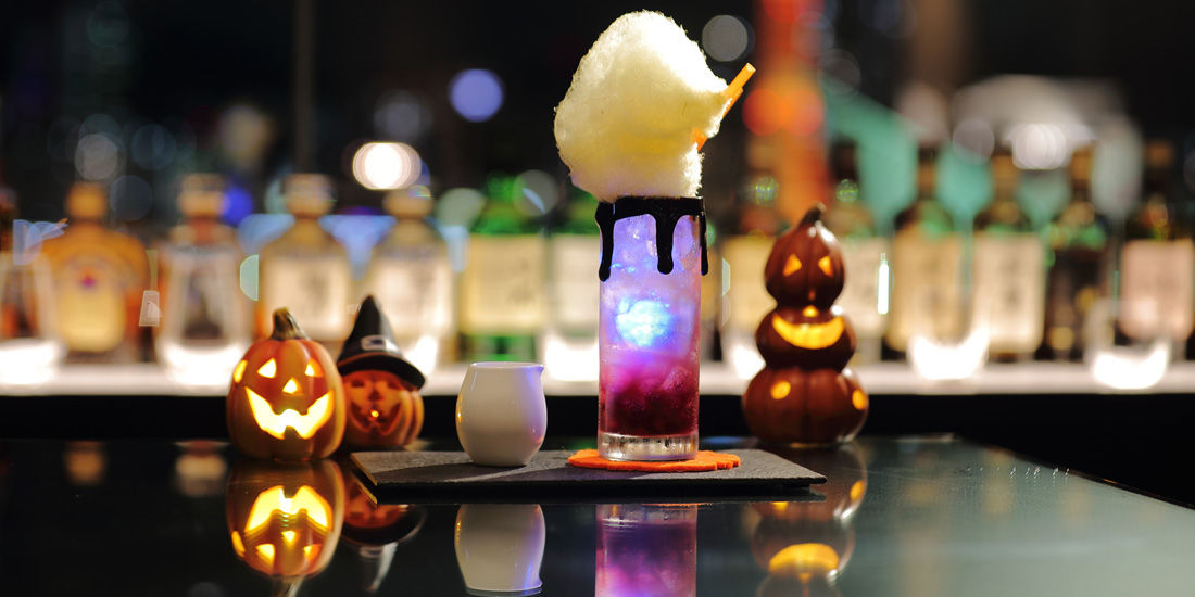 【1日10杯限定】ハロウィンカクテル
