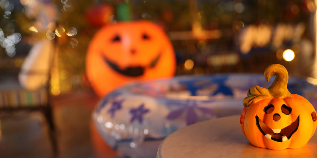 【最大51%OFF】Night Pool Happy Halloween Fair