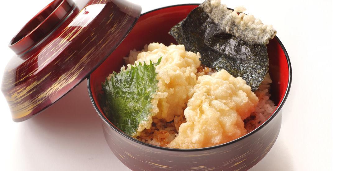 【淡路島の天然鱧料理フェア】鱧天丼