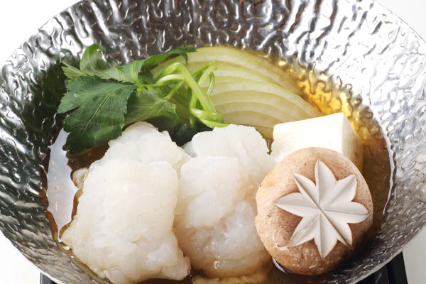【淡路島の天然鱧料理フェア】鱧ちり、鱧すき鍋、鱧天ぷら