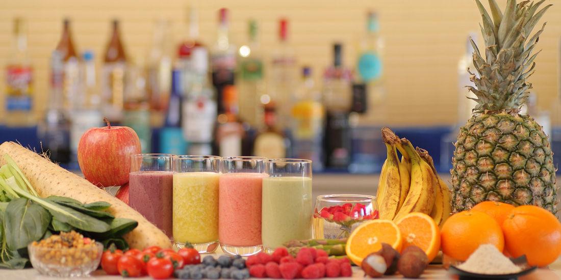 フレッシュフルーツと野菜のジュース(3~5月)