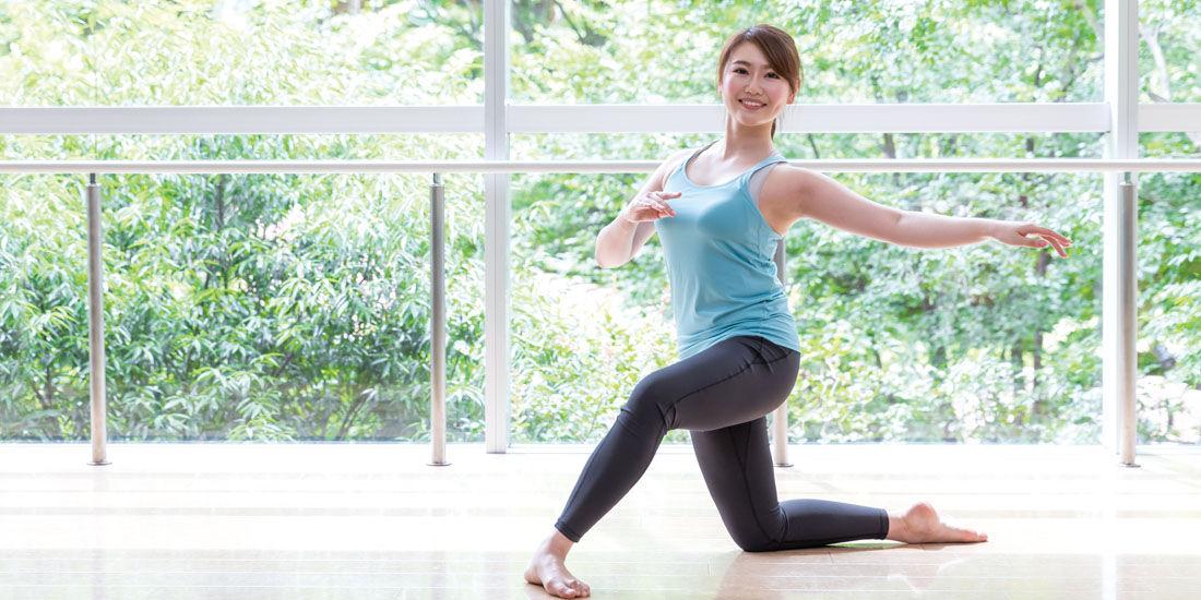 【新プログラム】身体の歪みを改善「フロアバレエ」登場