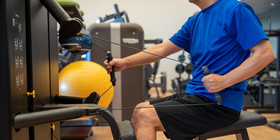 テクノジムと共同開発!新マシンを使用した蓮オリジナルトレーニングプログラム第2弾「KINESIS(キネシス)二の腕&背中シェイプ」