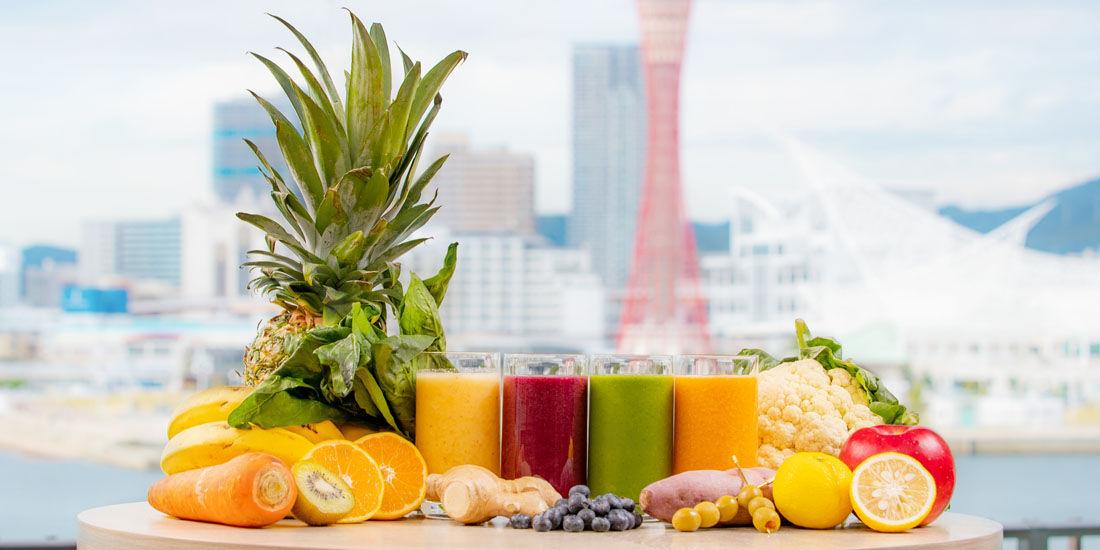 フルーツと野菜の