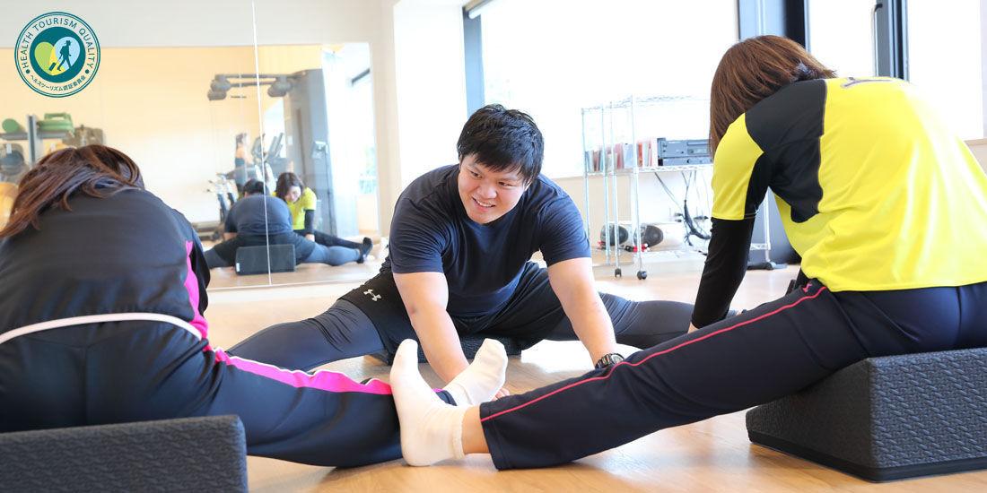 【ヘルスツーリズム認証プログラム】体力測定・運動能力 チャレンジプログラム