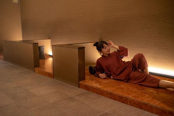 【日帰りゲスト限定/20時~22時まで】AROMA岩盤浴・溶岩浴0円キャンペーン