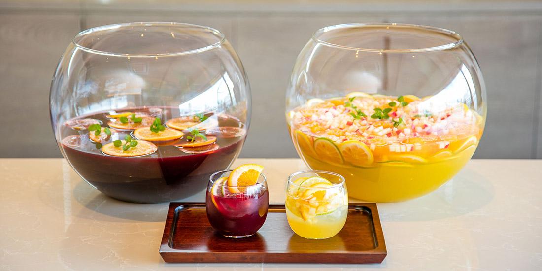 レモネードとフルーツパンチ