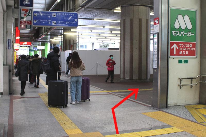 アクセス紹介 セブンイレブンが見えるまでまっすぐ進み、右に曲がる写真