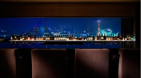 展望BAR REN KOBEから一望できる神戸の夜景