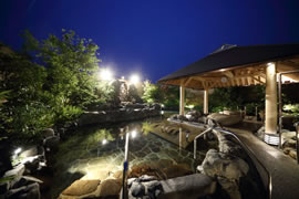 神戸みなと温泉 蓮の露天大浴