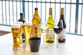 オプションサービス「飲み放題プラン」イメージ画像