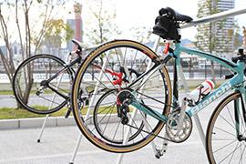 神戸みなと温泉 蓮のバイクステーション