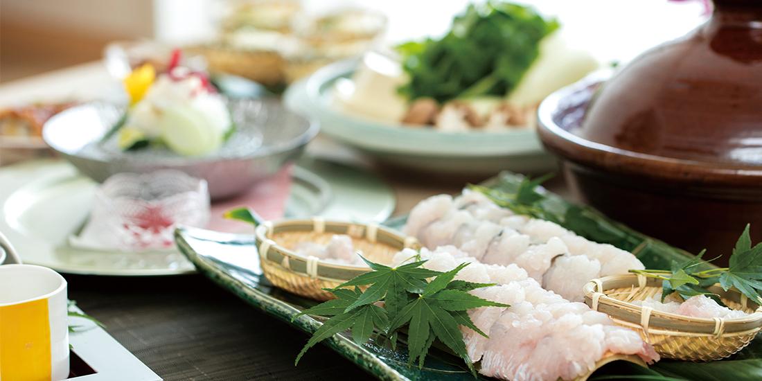 天然温泉と「はも」を満喫【季節のはも鍋プラン】料理イメージ