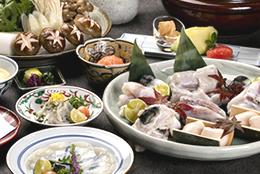 天然温泉と贅沢な冬の味覚「ふぐ」満喫プラン【てっちり・ふぐづくしプラン】