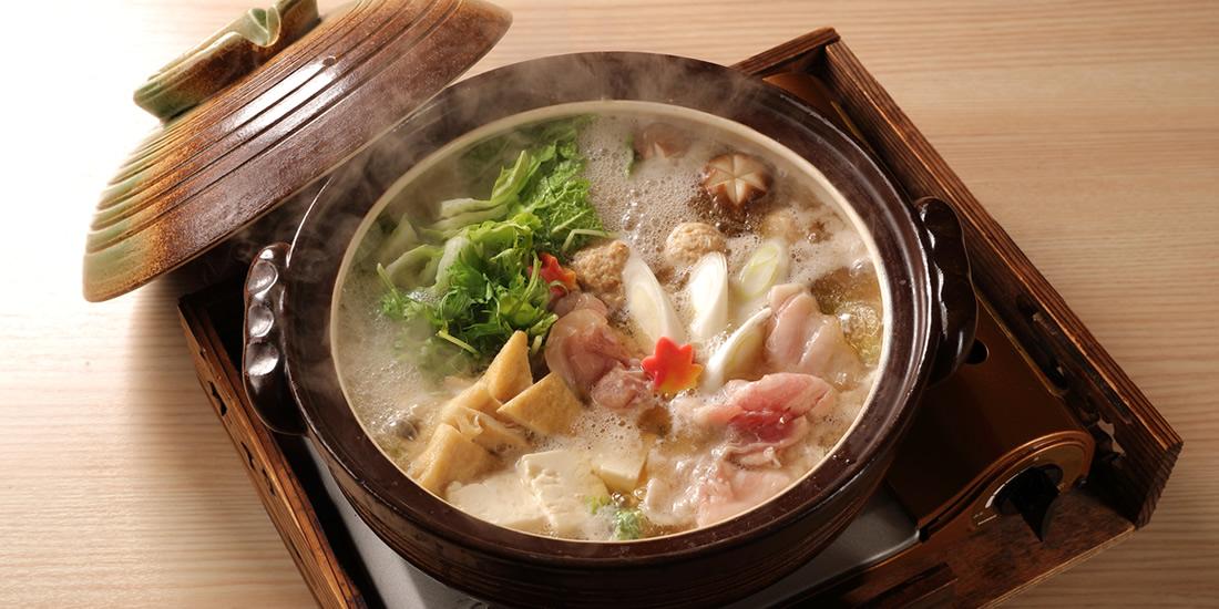 横綱の塩ちゃんこ大鍋付 日帰り天然温泉 忘新年会プラン 料理イメージ