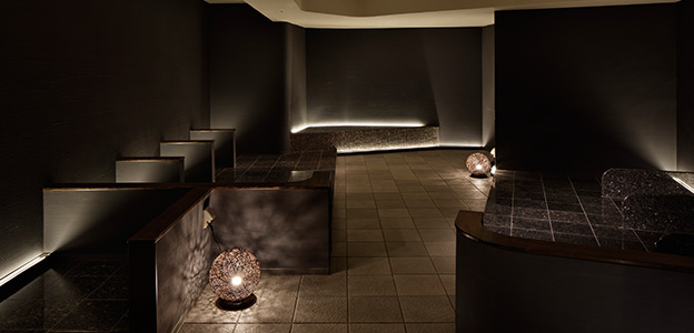 岩盤浴・溶岩浴・ホットヨガスタジオ 八蓮花の岩盤浴スペース