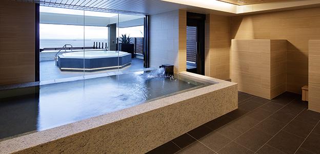 展望大浴場内の内風呂