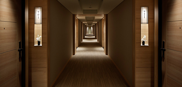 客室フロアー廊下