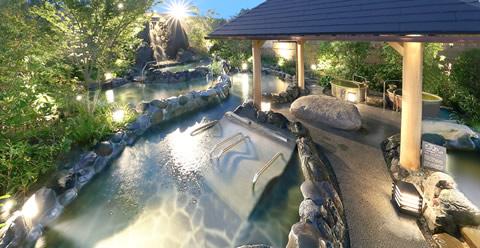 露天大浴場イメージ画像