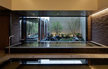 屋内大浴場「神戸みなと温泉」の写真