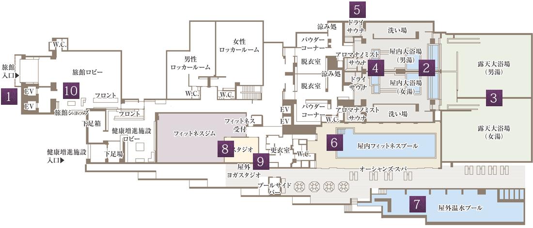 一階の見取り図