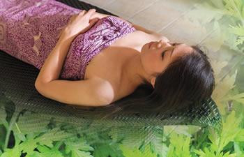 よもぎ蒸しハマム浴のイメージ写真