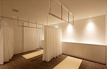 健康増進施術ルーム 美蓮 マッサージスペースの写真