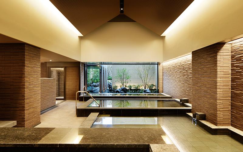 神戸みなと温泉 蓮の大浴場