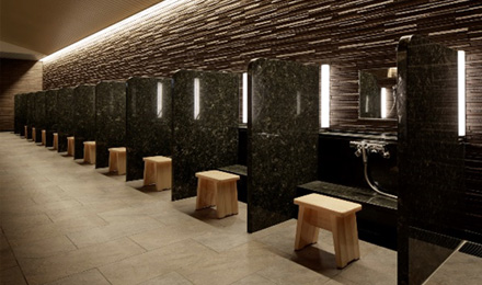 神戸みなと温泉 蓮の洗い場