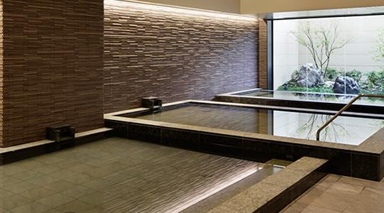 神戸みなと温泉 蓮の屋内大浴場
