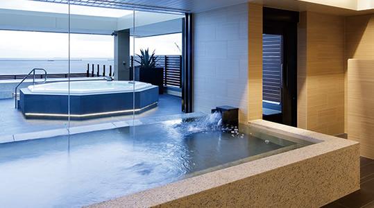 展望大浴場の全景