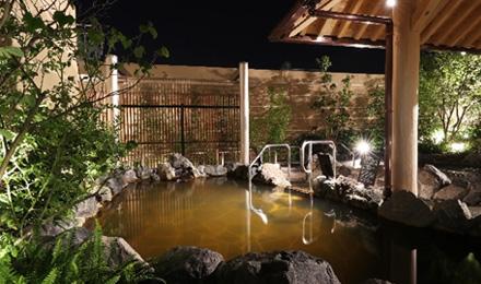 保湿効果と美肌効果が特徴の源泉かけ流し湯