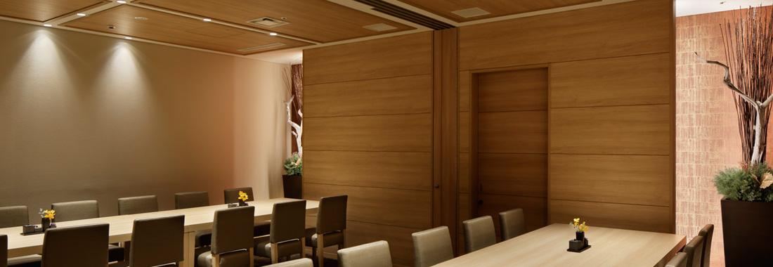 小宴会室の一室