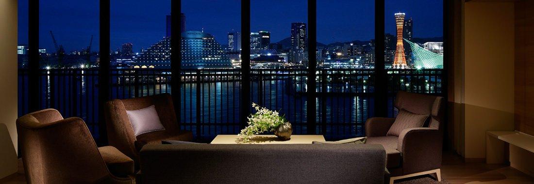 神戸みなと温泉 蓮の客室・オーシャンスイート