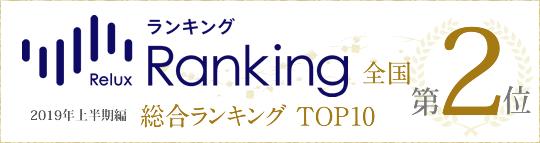 Relux Ranking 2017年上半期「女子旅で人気の宿」全国1位