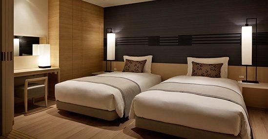 シモンズ社製のベッド